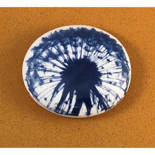 Clare Mahoney Piedra de toque de doble cara de porcelana lisa Grande 075