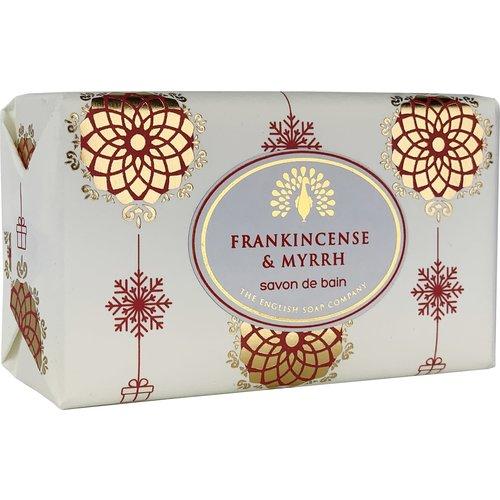 English Soap Company Fankincense & Myrrh Vintage Wrap Soap 01