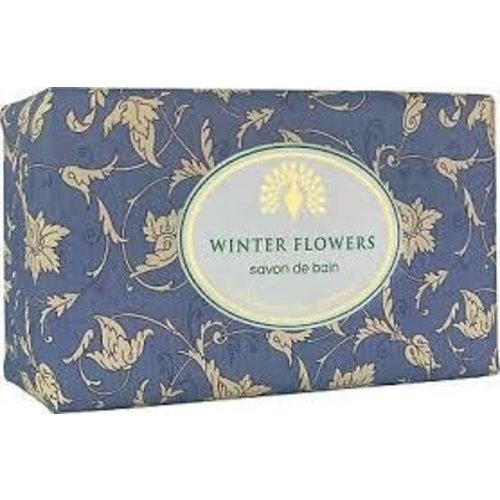 English Soap Company Winter Flowers Vintage Wrap Soap 02