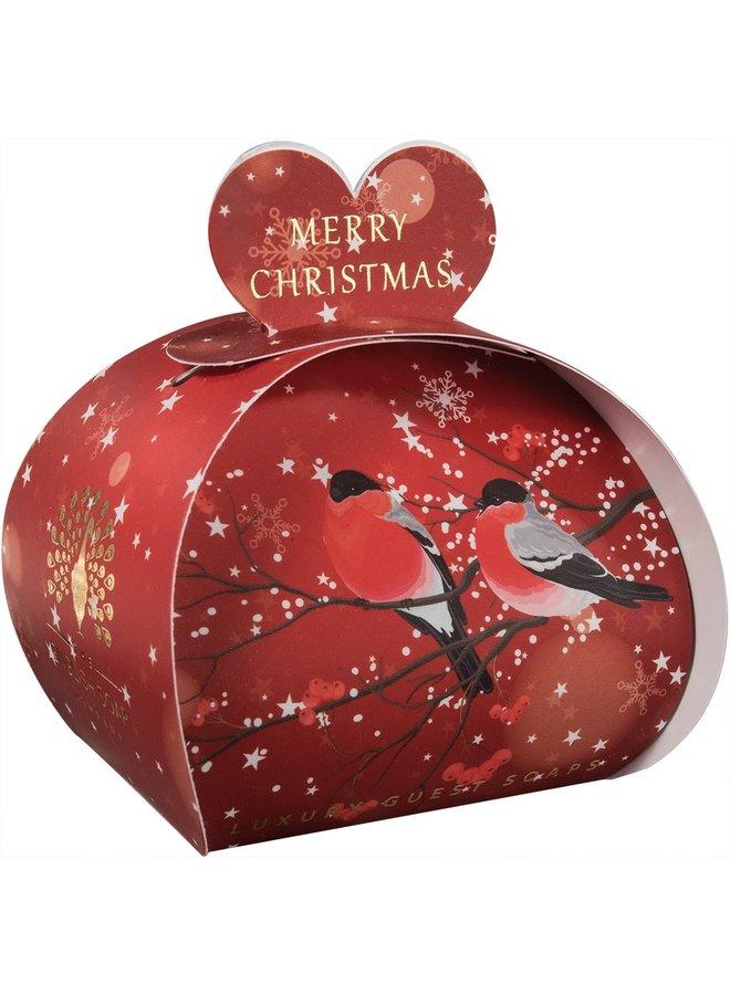 Frohe Weihnachten Bulfinches Gastseife 07