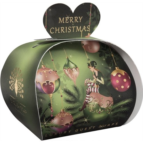 English Soap Company Merry Christmas Elf Luxury Guest Soap 08