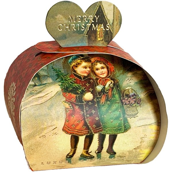 Victorian White Christmas Luxury Guest Soap 09