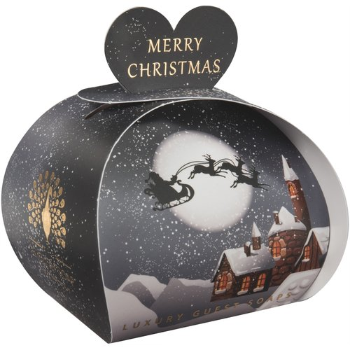 English Soap Company Winter Village Luxury Guest Soap 10