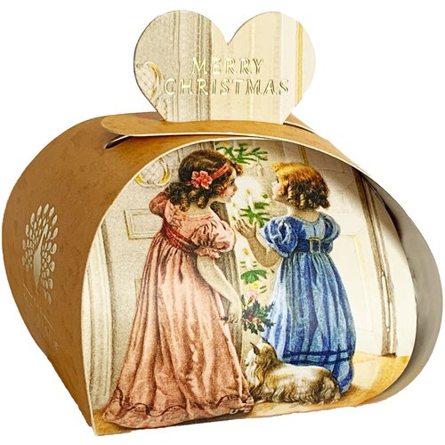 English Soap Company Victorian Christmas Luxury Guest Soap 11