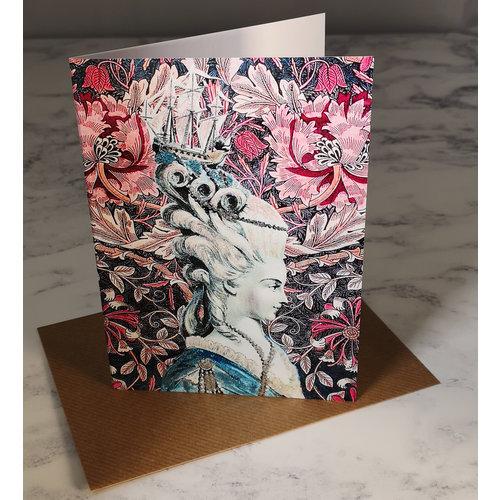 Diana Wilson Shipshape Vintage Glitter Card 72