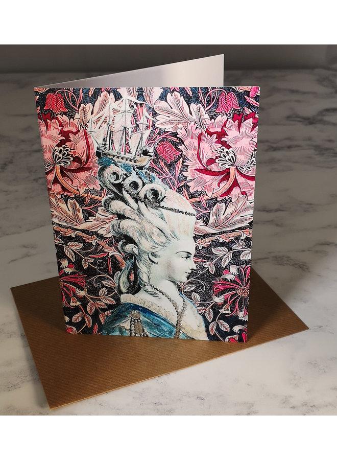 Shipshape Vintage Glitter Card 72