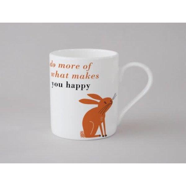 Happiness Rabbit Small Mug Orange138