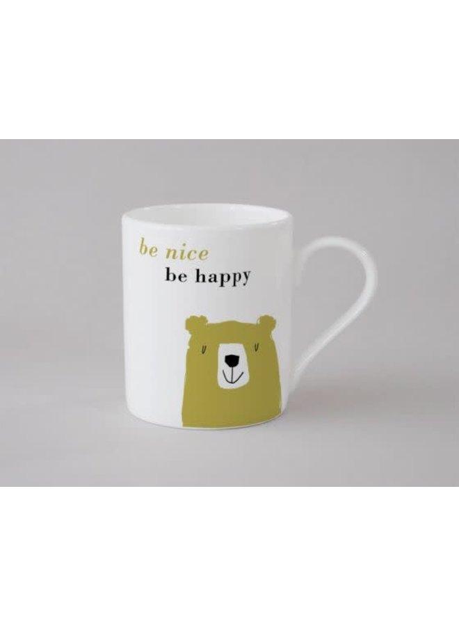 Happiness Bear Kleine Tasse Olive 139