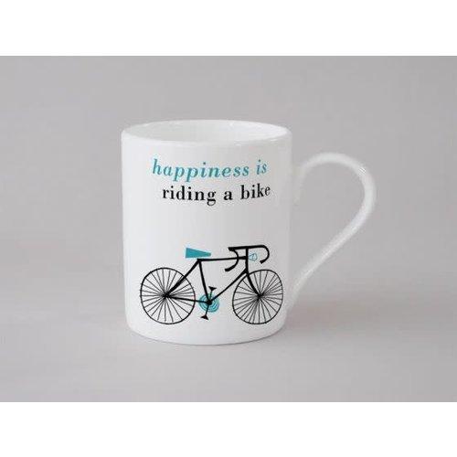 Repeat Repeat Happiness Bike Small Mug Blue 144