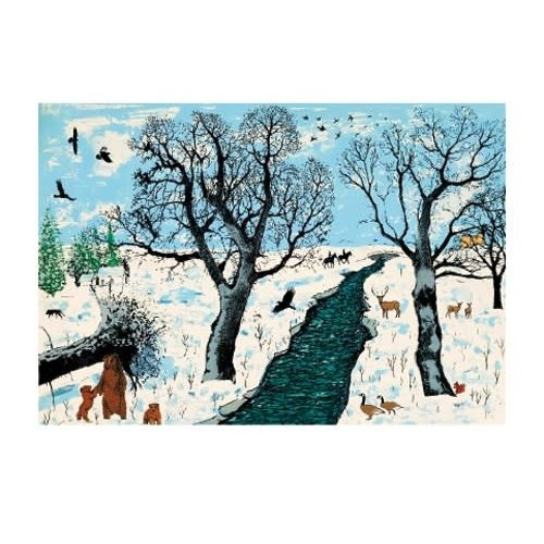 Art Angels Winter Life by Tim Southall
