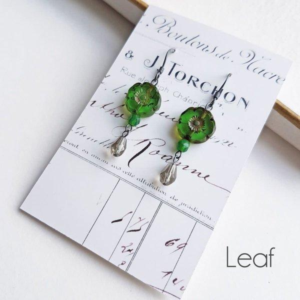 Bohemia Leaf drop earrings 33