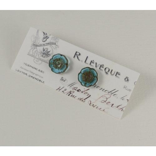 Judith Brown Bohemia turquoise  stud earrings 25