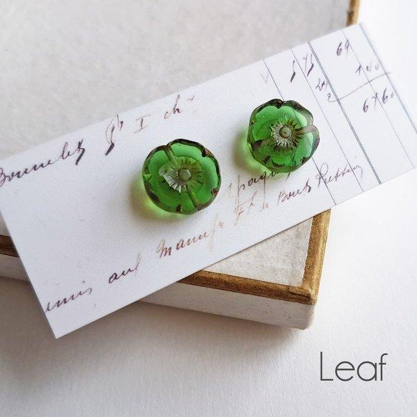 Bohemia Leaf  stud earrings 28