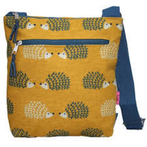 LUA Hedgehog Messenger Bag Mustard 294