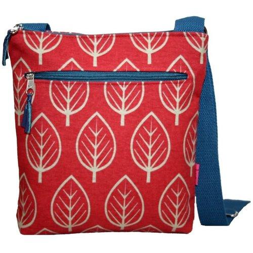 LUA Leaf Messenger Bag Chili 295