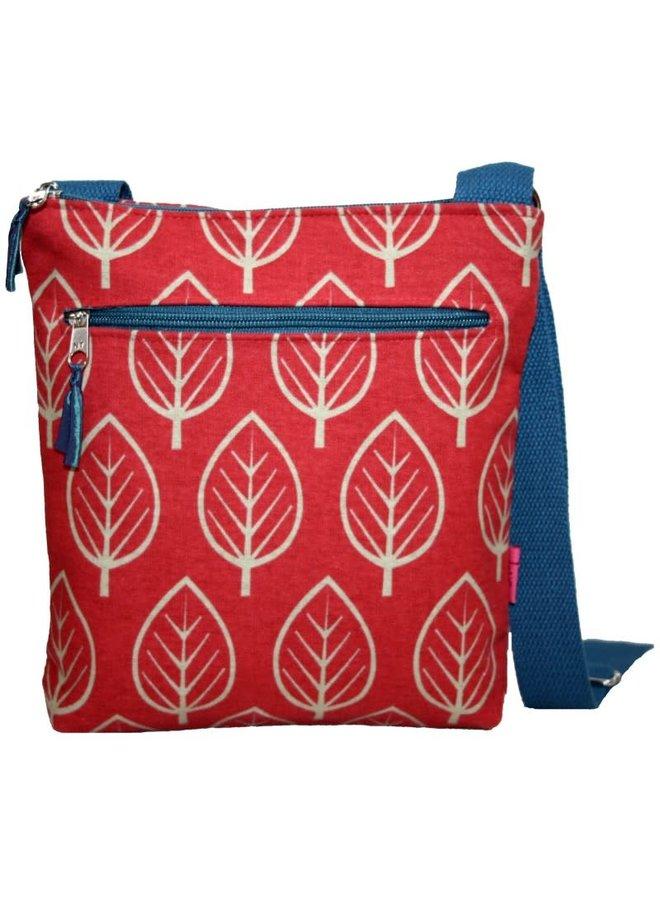 Leaf Messenger Bag Chili 295