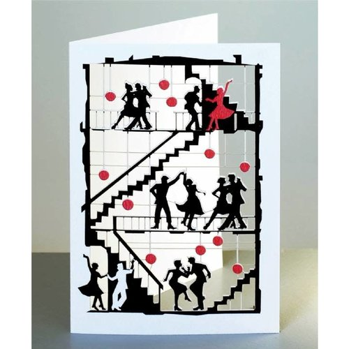 Forever Cards Dancing Laser cut card