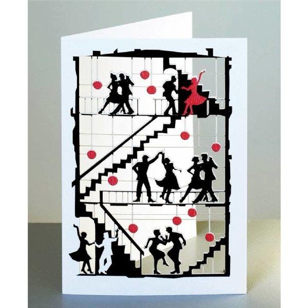 Dancing Laser cut card