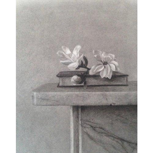 Linda Brill Magnolia Stellata Lámina giclée 026