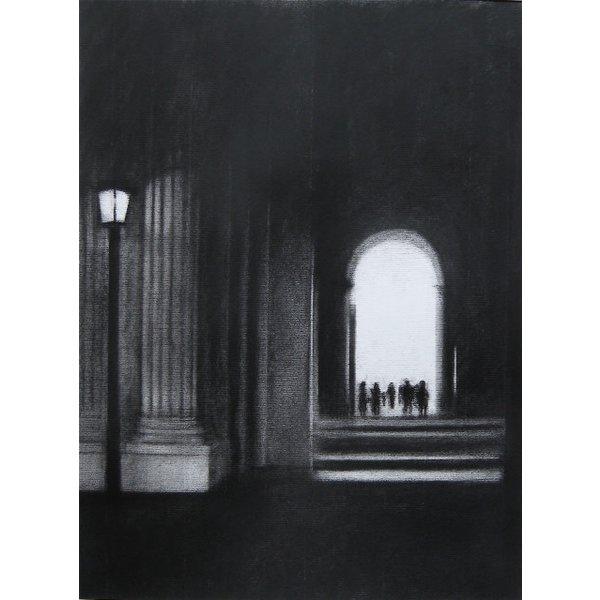 Louvre Lamp  Giclee Print 028