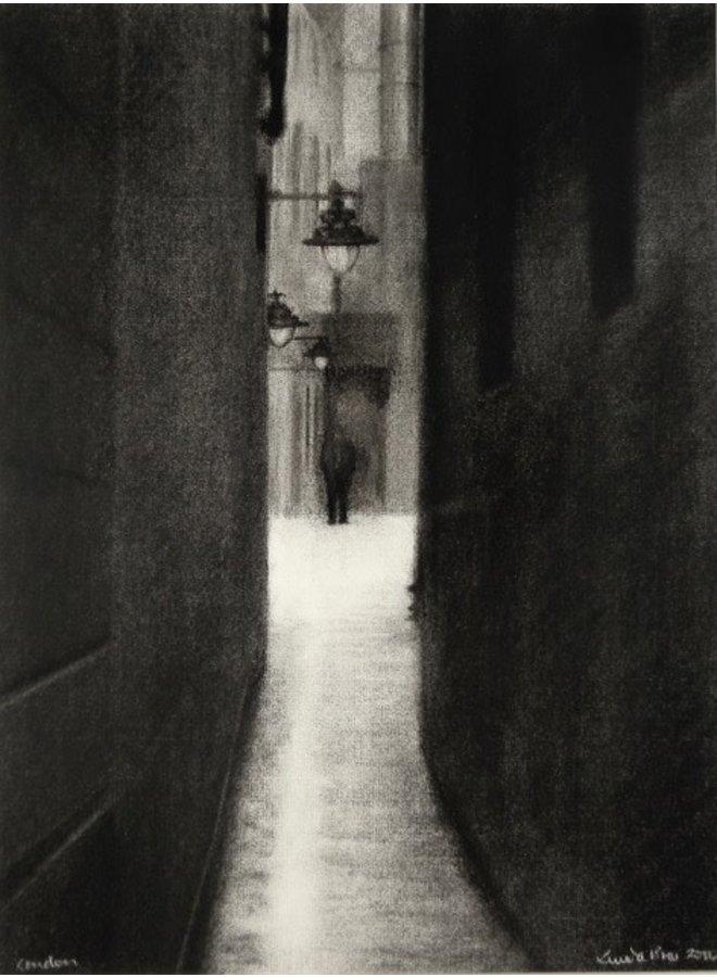 London Alley Giclée-Druck 027