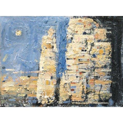 Frank Gordon A Finger of Limestone, Penyghent 015