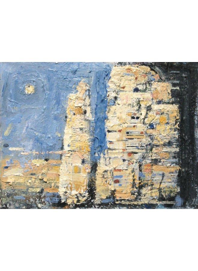 Ein Finger aus Kalkstein, Penyghent 015
