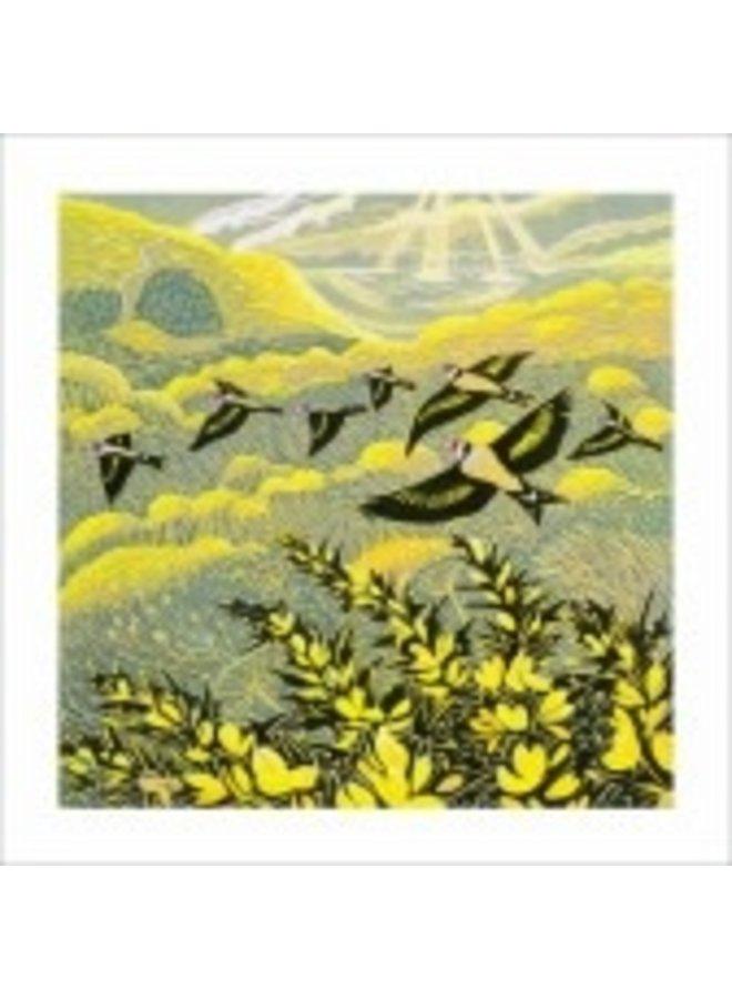 Warren Glen von Annie Sudan 140x140mm Karte
