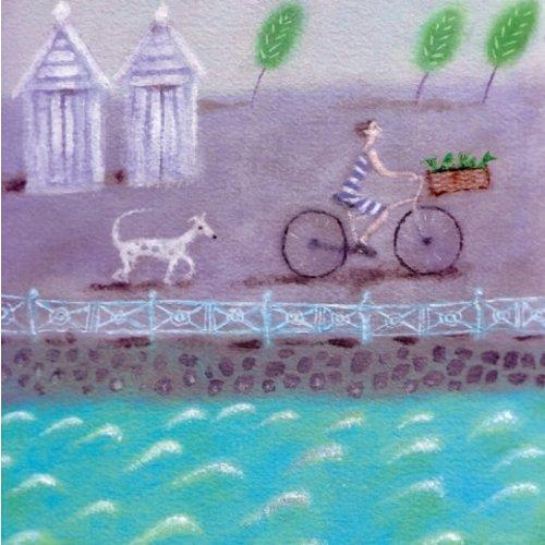 Artists Cards Homeward Bound by Kim Glass 140x140mm card