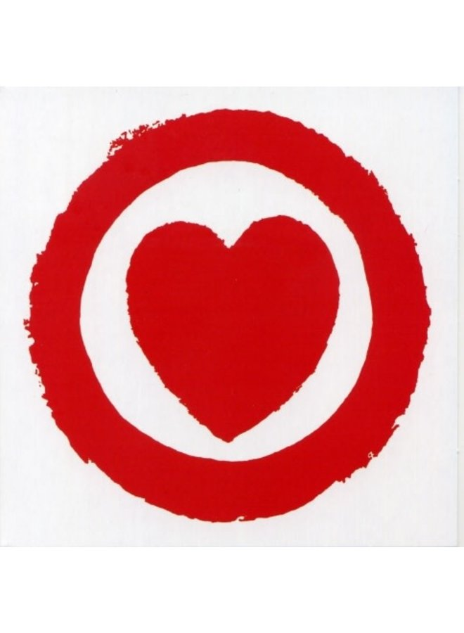 Le Coeur a Gaz von Sonia Delaunay 140x140mm Karte