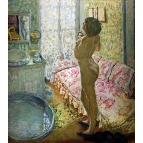 Artists Cards Nu a contre-Jour by Bonnard  Artists Postcard