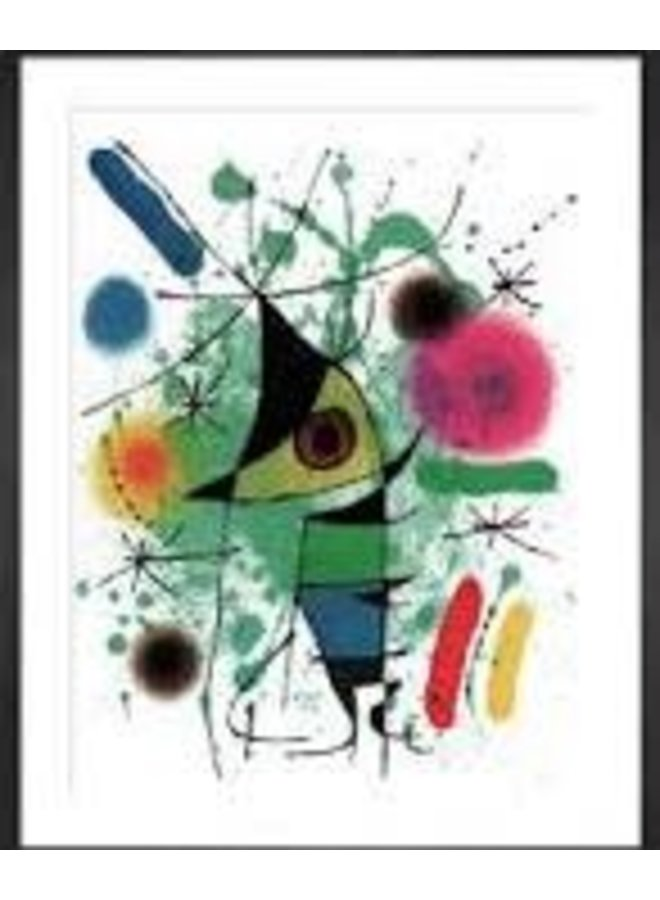 The Sining Fish by Miro Artists Postcard