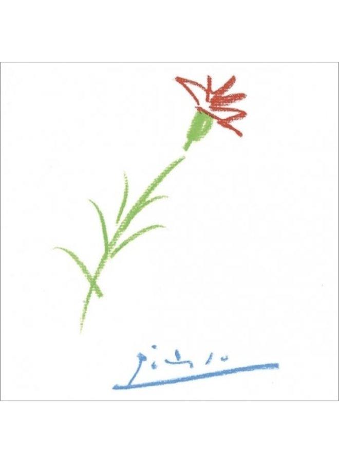 Gavilla de fabulas sin amor Picasso 140x140mm Karte
