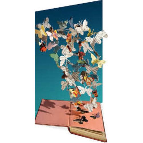 Roger La  Borde Butterflies  by Su Blackckwell Laser Card