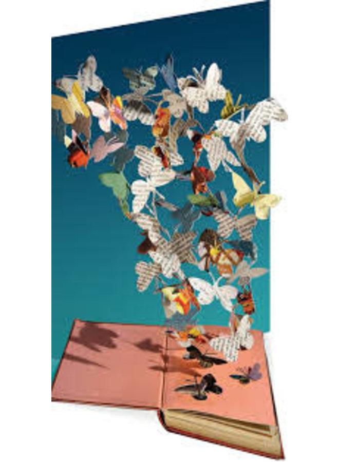 Butterflies  by Su Blackckwell Laser Card