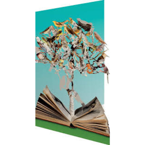Roger La  Borde Observers Book of Birds by  Su Blackwell 3D Card