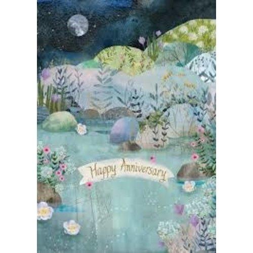 Roger La  Borde Anniversary Dreamland by Kendra Binney  Card