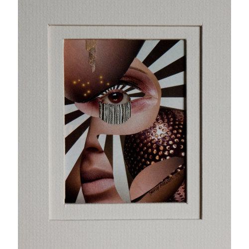 David Archer Gläser in der Nacht (ein Porträt von Andre Breton als Frau 33
