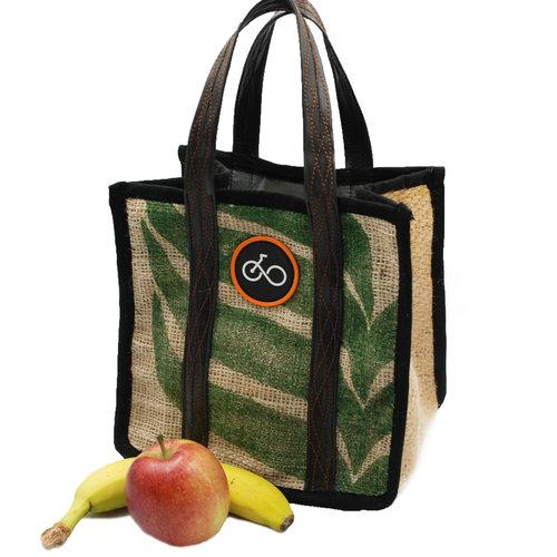 Cylcle Of Good Saco de café reciclado y bolsa de almuerzo de tubo interior