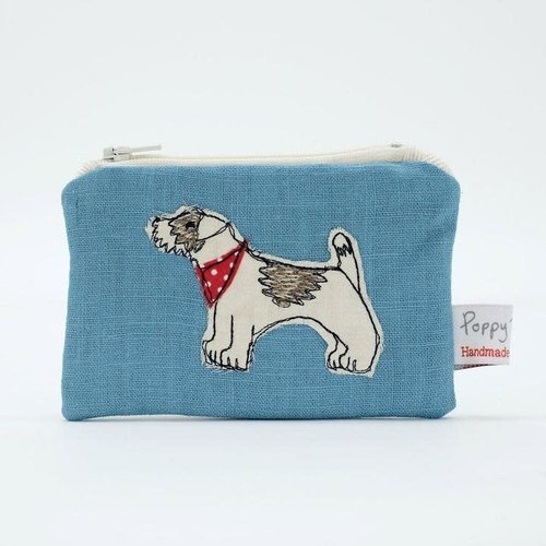 Poppy Treffry Jack Russel Embroidered Coin Purse 03