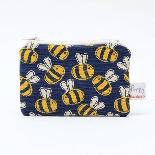 Poppy Treffry Busy Bee Printed Coin Purse 07