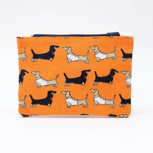 Poppy Treffry Dachshund  Printed Coin Purse 08