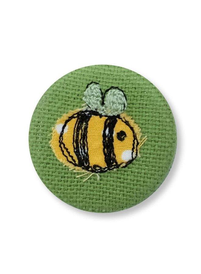 Biene gesticktes Abzeichen / Brosche 12