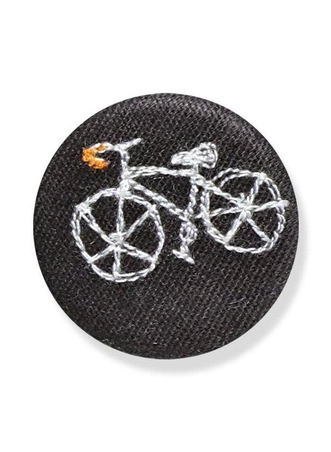 Fahrradgesticktes Abzeichen / Brosche 14