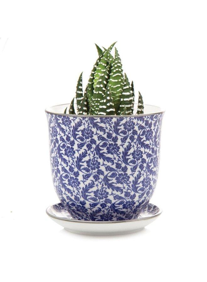 Morris Blue Liberte ceramic mini planters 003