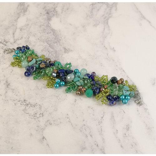 Lotus Feet Gaugan  bracelet 079