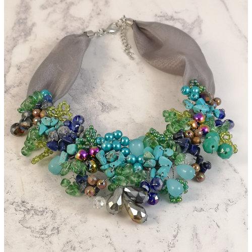 Lotus Feet Gaugan necklace 075