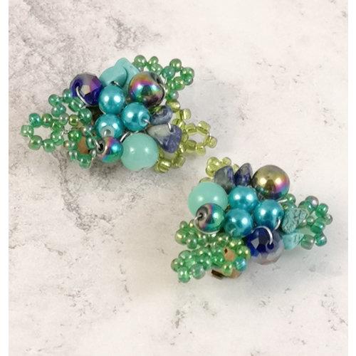 Lotus Feet Gaugan clip earrings 076
