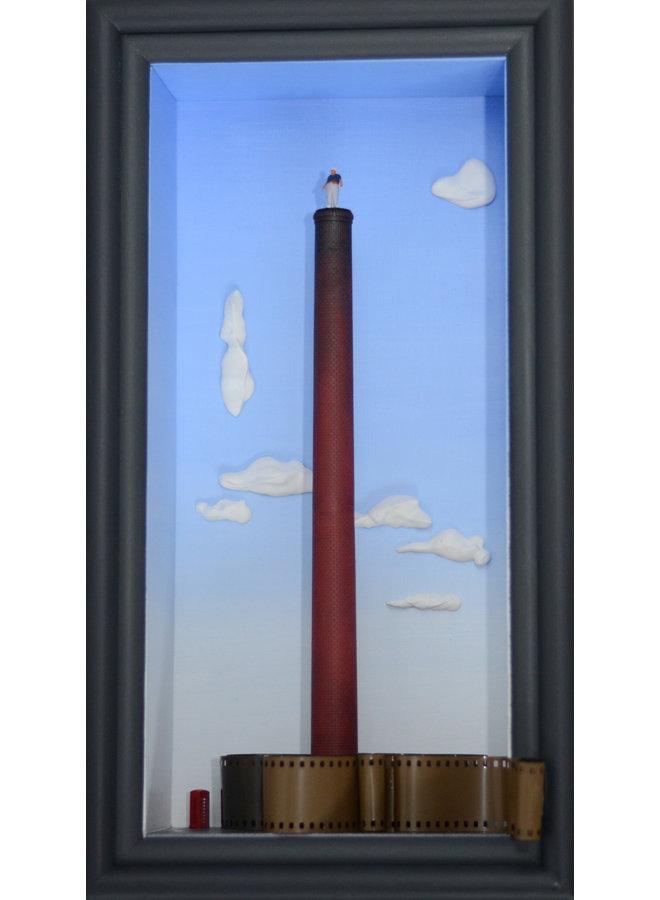 Zerrissenes Fenster - Eine Hommage an Alfred Hitchcock - 37