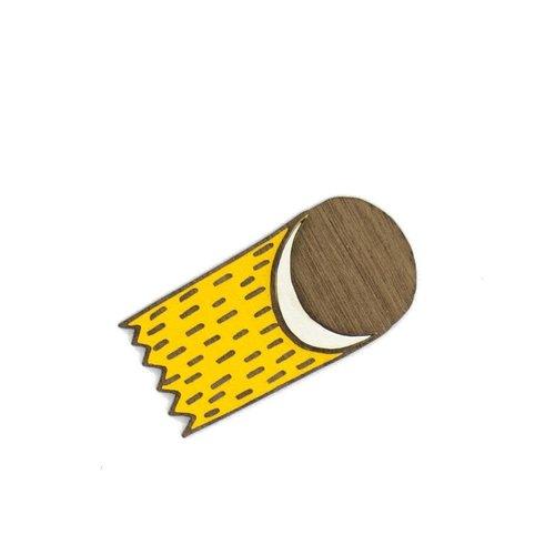 Materia Rica Broche Rayo Luna 018